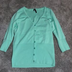 ***worn once*** maurices button up cardigan